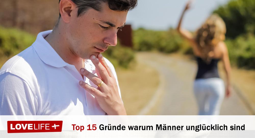 15 Anzeichen, dass Männer unglücklich in der Beziehung